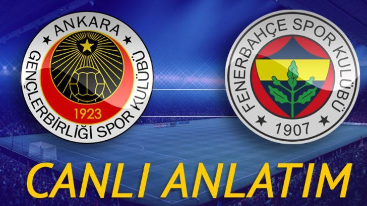 CANLI | Gençlerbirliği -Fenerbahçe