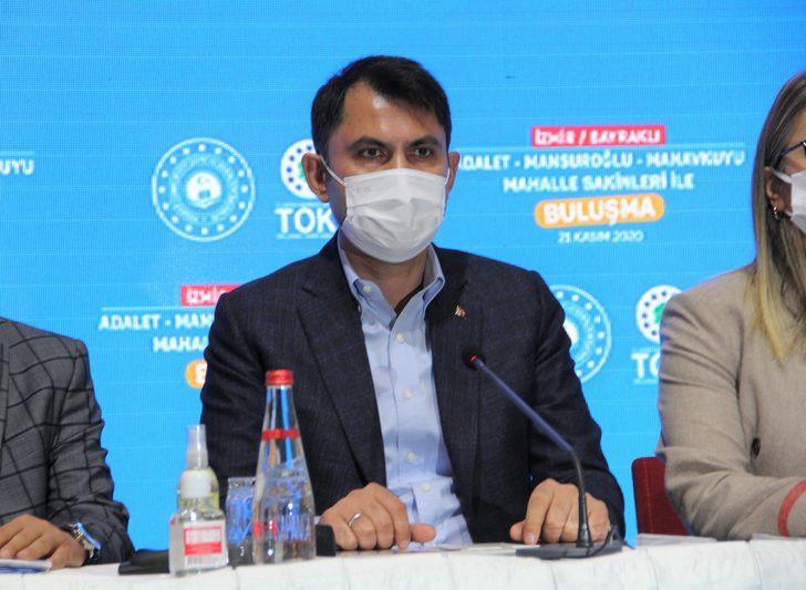 Bakan Kurum'dan İzmir'deki depremle ilgili açıklama: 1 yılda tamamlanacak