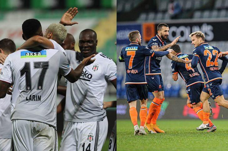 Beşiktaş - Başakşehir maçı İlk 11'leri belli oldu