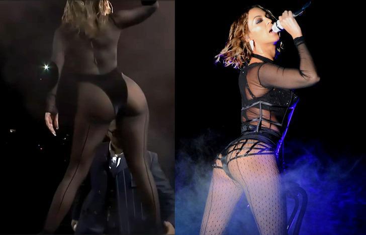 Jennifer Lopez Beyonce'yi mi taklit etti? İnanılmaz benzerlik