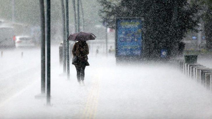 Meteoroloji'den sağanak yağış, kar ve fırtına uyarısı