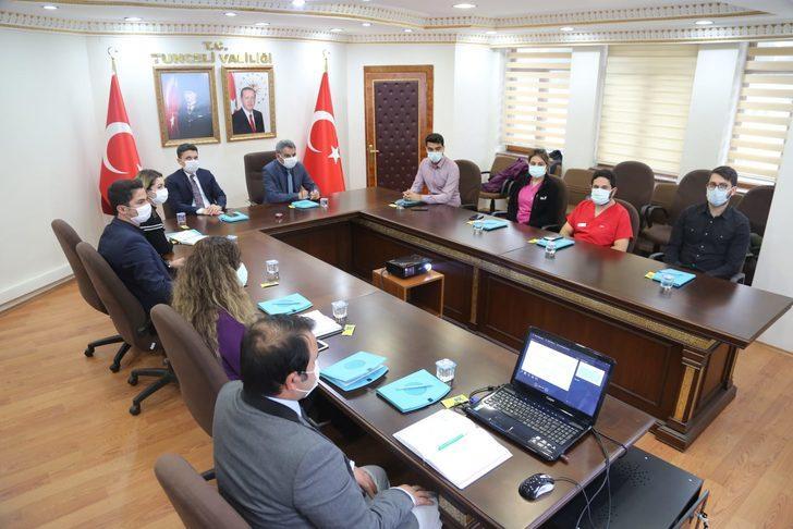 Tunceli'de koronavirüs nedeniyle engelli personele idari izin