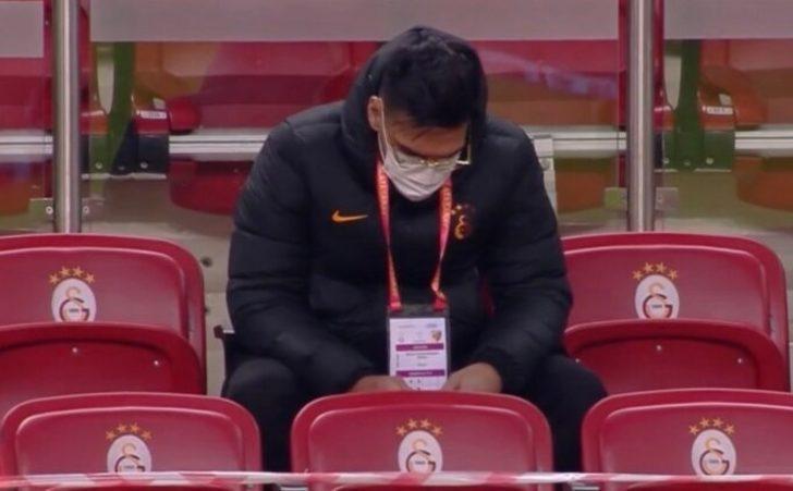 Galatasaray taraftarından Falcao'ya tepki!