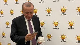 Erdoğan, Ayda bebek ile görüştü