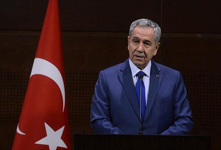 Bülent Arınç'tan Cumhurbaşkanı Erdoğan'a: Yanlış yaptım