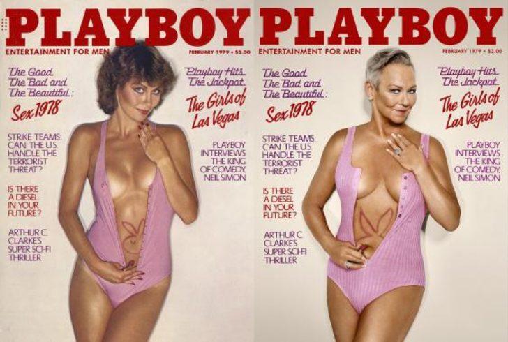 38 yıl önce, 38 yıl sonra: Playboy'un modelleri güzelliğin zamansız olduğunu kanıtladı