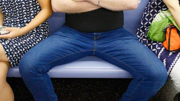 Yerimi işgal etme diyenler kazandı:  Toplu taşıtlarda erkeklere bacak açarak oturmak artık yasak
