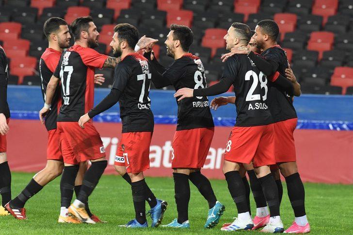Gaziantep FK: 3 - Serik Belediyespor: 0 (Maç Sonucu)