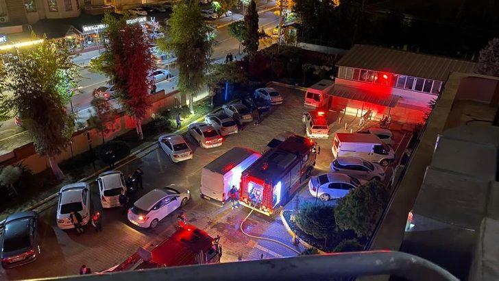 Şanlıurfa'da korkutan yangın! Otelde kalanlar tahliye edildi