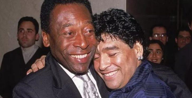 Pele'den Maradona'nın ölümü sonrası ilk sözler