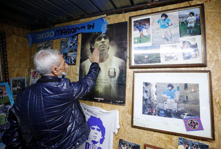 Maradona'nın vefatı Napoli başta olmak üzere İtalya'yı derin üzüntüye boğdu