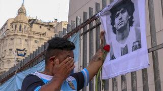 Maradona'nın ölümü herkesi yasa boğdu