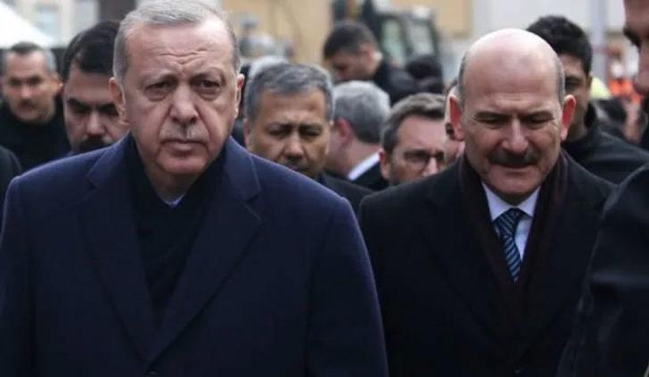 Dikkat çeken iddia: Cumhurbaşkanı Erdoğan Arınç'la ilgili konuşurken Bakan Soylu not alıyordu