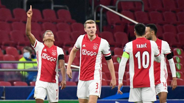 ÖZET   Ajax - Midtjylland maç sonucu: 3-1