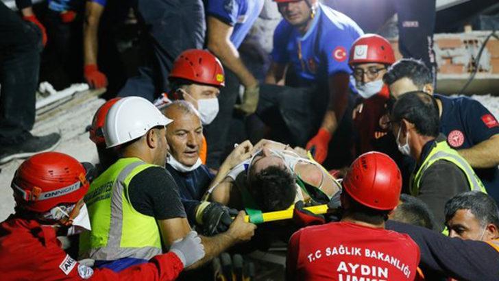 Enkazdan çıkartılan futbolcu, hastanede hayatını kaybetti