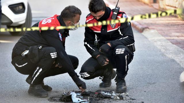Polis üniforması yanmış halde bulundu! Her yerde aranıyor