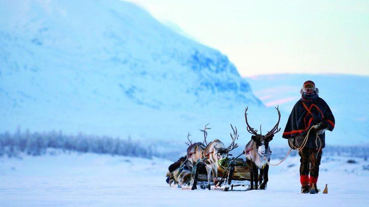 İskandinavya Yerli Halkı Samiler Kültürleri İçin Savaşıyor