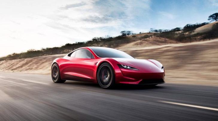 Tesla Roadster için Elon Musk'tan 'rengarenk' açıklama!