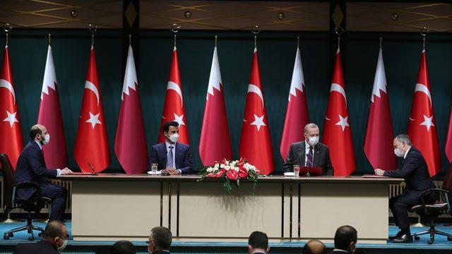 Türkiye ile Katar arasında kritik anlaşmalar