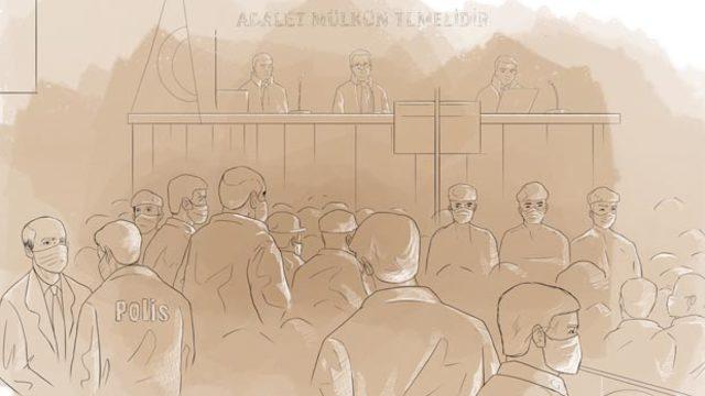 Mahkeme başkanına küstah tehdit!