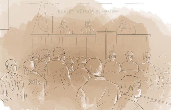 Akıncı Üssü davasında mahkeme başkanına küstah tehdit: Başkan görüşürüz seninle
