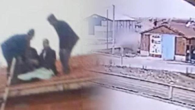 Araçtan çatıya fırladı: Şaşırdık, anlam veremedik
