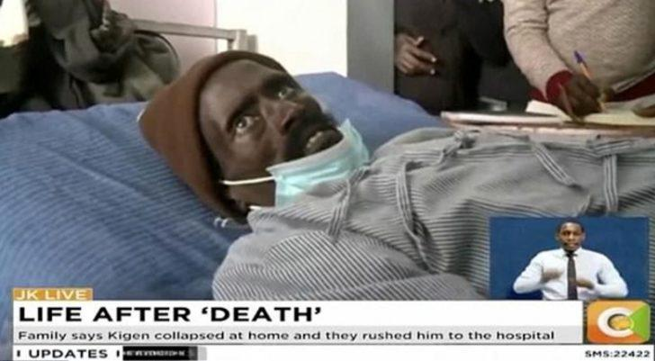 Öldü diye morga konuldu, saatler sonra canlandı