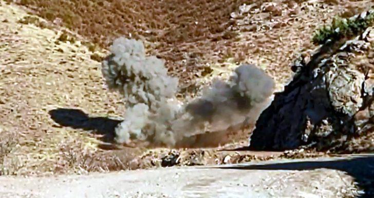 Bitlis kırsalında PKK'ya ait EYP ve top mühimmatı ele geçirildi