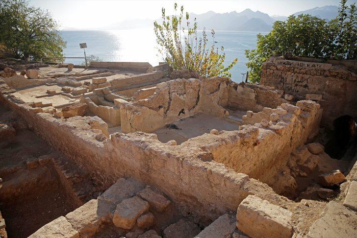 Antalya'da arkeolojik kazıda buz fabrikası kalıntıları ortaya çıktı