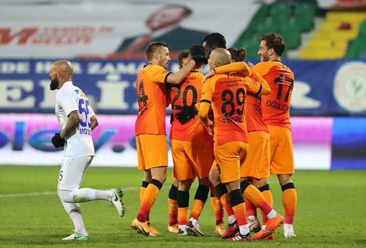 ÖZET | Çaykur Rizespor 0-4 Galatasaray