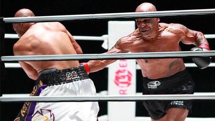 Mike Tyson gösteri maçıyla ringe döndü