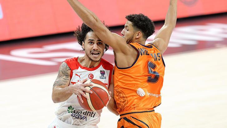 Hollanda - Türkiye: 71-73 (Maç sonucu)