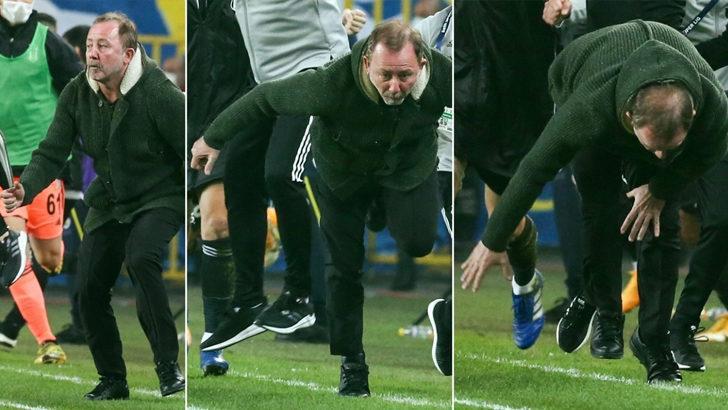 Sergen Yalçın'ın gol sevinci olay oldu!