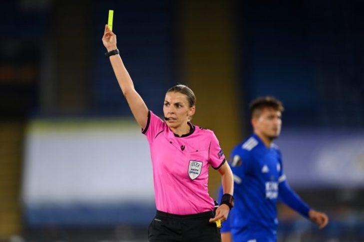 Kadın hakem Stephanie Frappart, Juventus-Dynamo Kiev maçını yönetecek