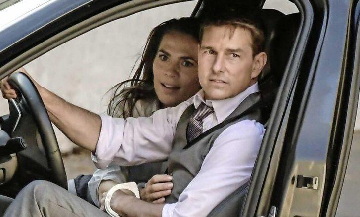 Görevimiz Tehlike 7 setinden dikkat çeken kare! Tom Cruise'u daha önce böyle görmediniz