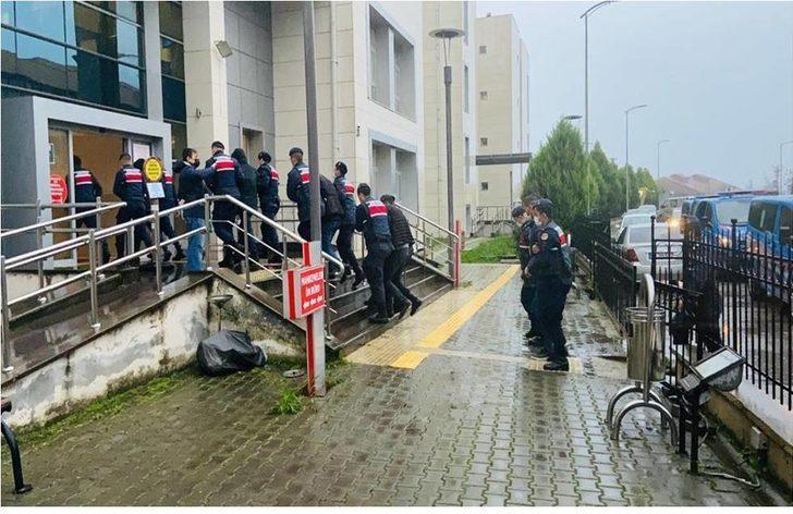 Zonguldak'ta kablo hırsızlığından yakalanan şüpheliler serbest bırakıldı