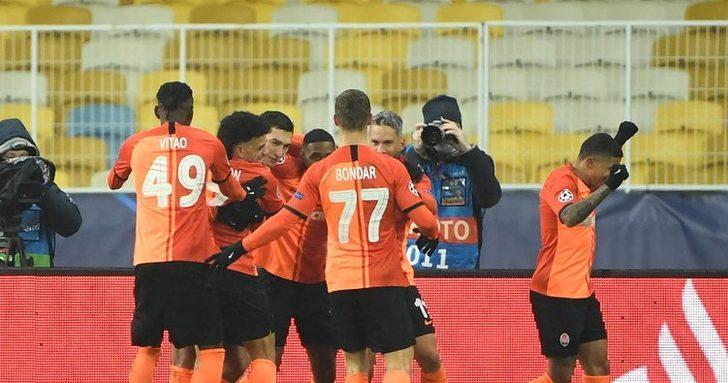 Shakhtar Donetsk 2-0 Real Madrid   MAÇ SONUCU