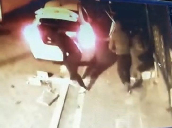 Sakar hırsızlar kamerada