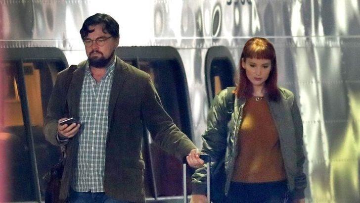 Jennifer Lawrence ve Leonardo DiCaprio tanınmayacak halde