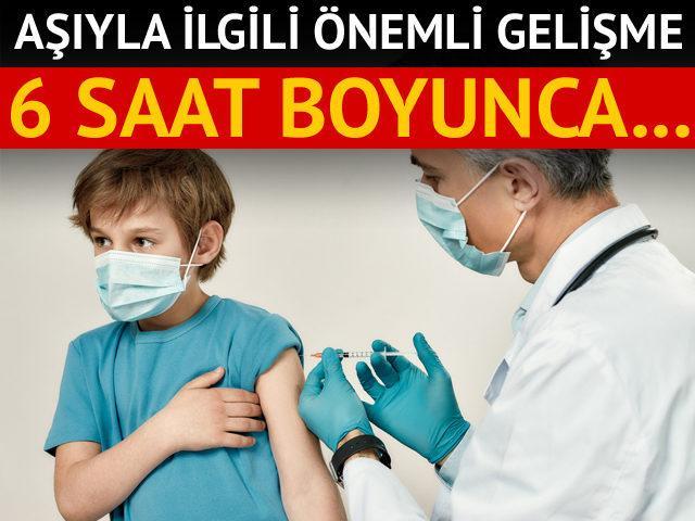 Biontech aşısı 6 saate kadar 2-8 derecede taşınabilir!