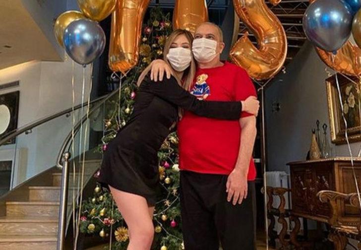Mehmet Ali Erbil kızı Yasmin'in doğum gününü kutladı! Erbil ayakta mutluluk pozları verdi