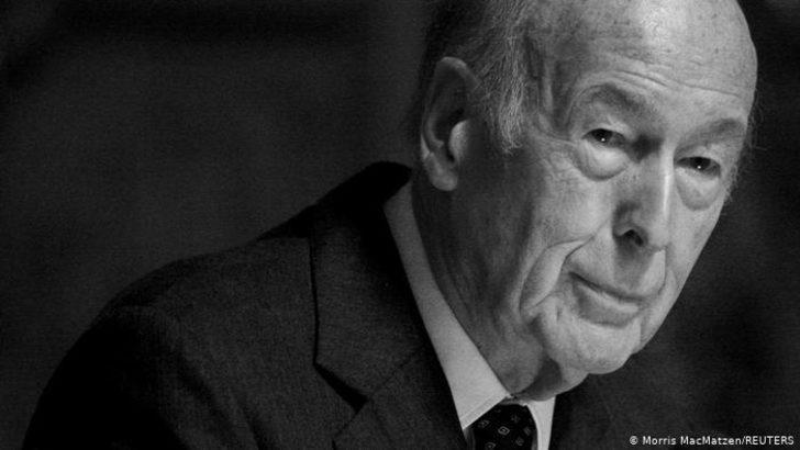 Fransızlar Giscard d'Estaing için yasta