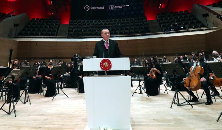 Cumhurbaşkanı Erdoğan: Jakoben zihniyetten, Türk müziği de payını almıştır