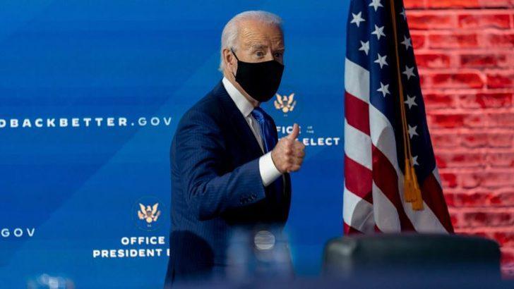Biden'dan Maske ve Aşı Mesajı