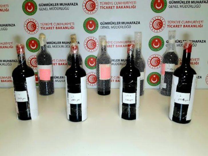 İstanbul Havalimanı'nda sıvı kokain ele geçirildi! Değeri 13 milyon 800 bin lira