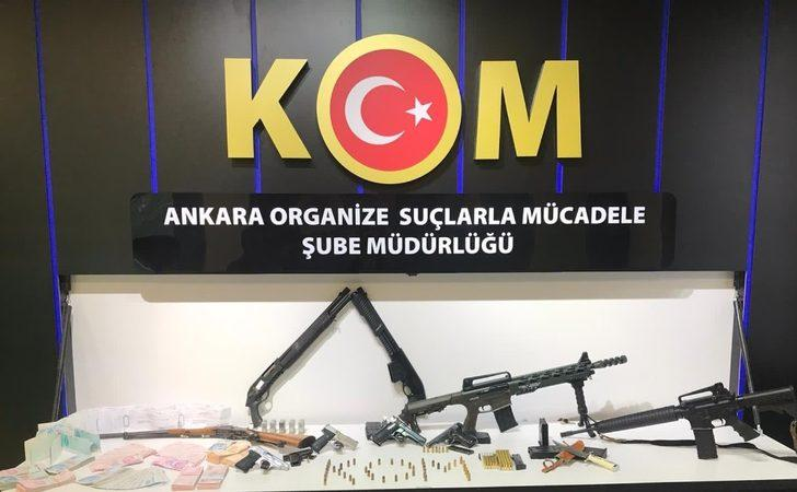 Başkent'te suç örgütüne yönelik operasyonda 24 gözaltı
