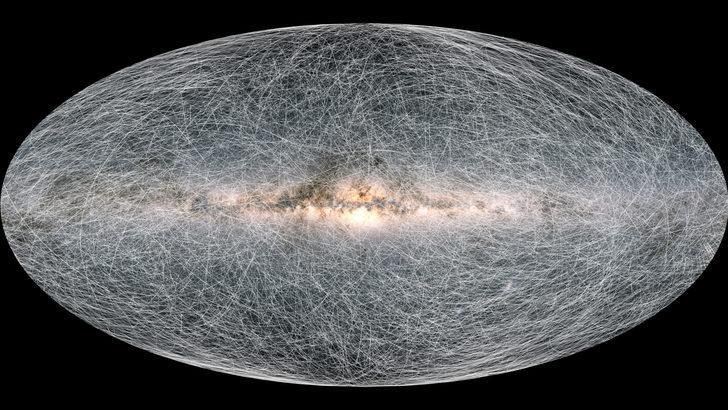 Örümcek ağı gibi: Samanyolu Galaksisi'nin en hassas haritası oluşturuldu!
