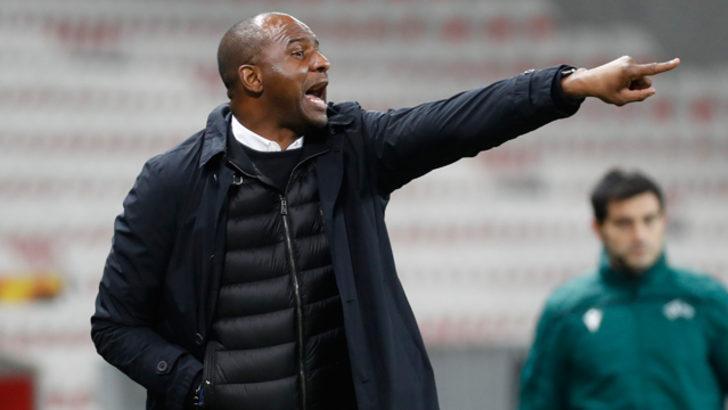 Nice'te Patrick Vieira'nın görevine son verildi