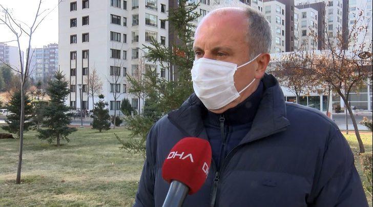 Muharrem İnce'den CHP'ye sert eleştiri! 'Bu kafayla giderlerse parti baraja takılır'