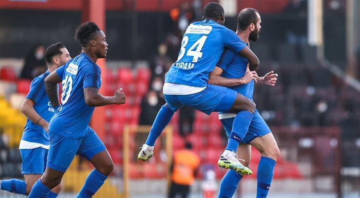 Tuzlaspor, İstanbulspor'u 2-0 mağlup etti